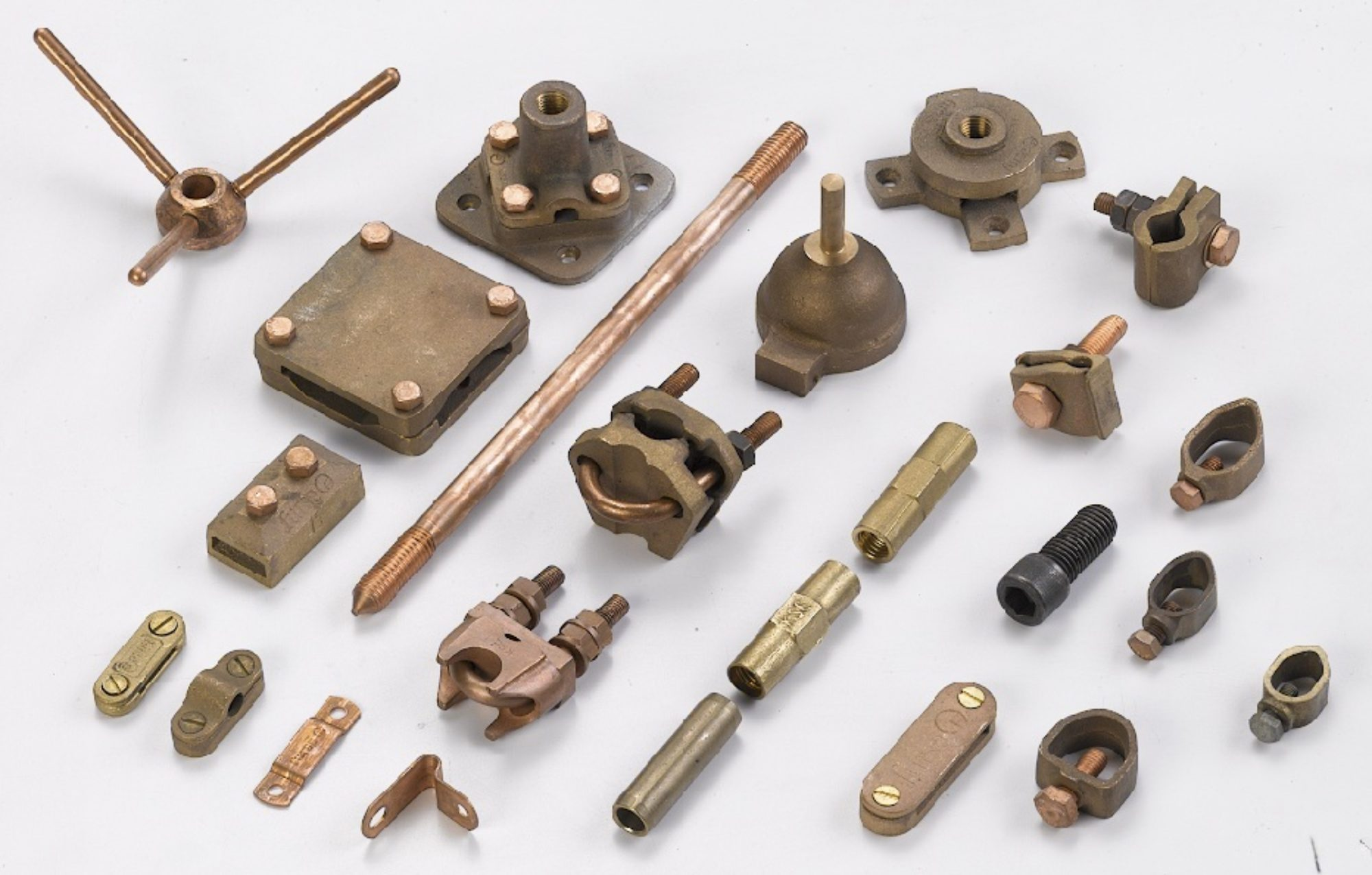 Copper Bonded Rod and its Accessories Contact AI EARTHING are manufacturer and exporters